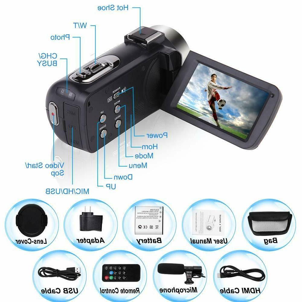 Video Camera Camcorder Microphone Vlogging