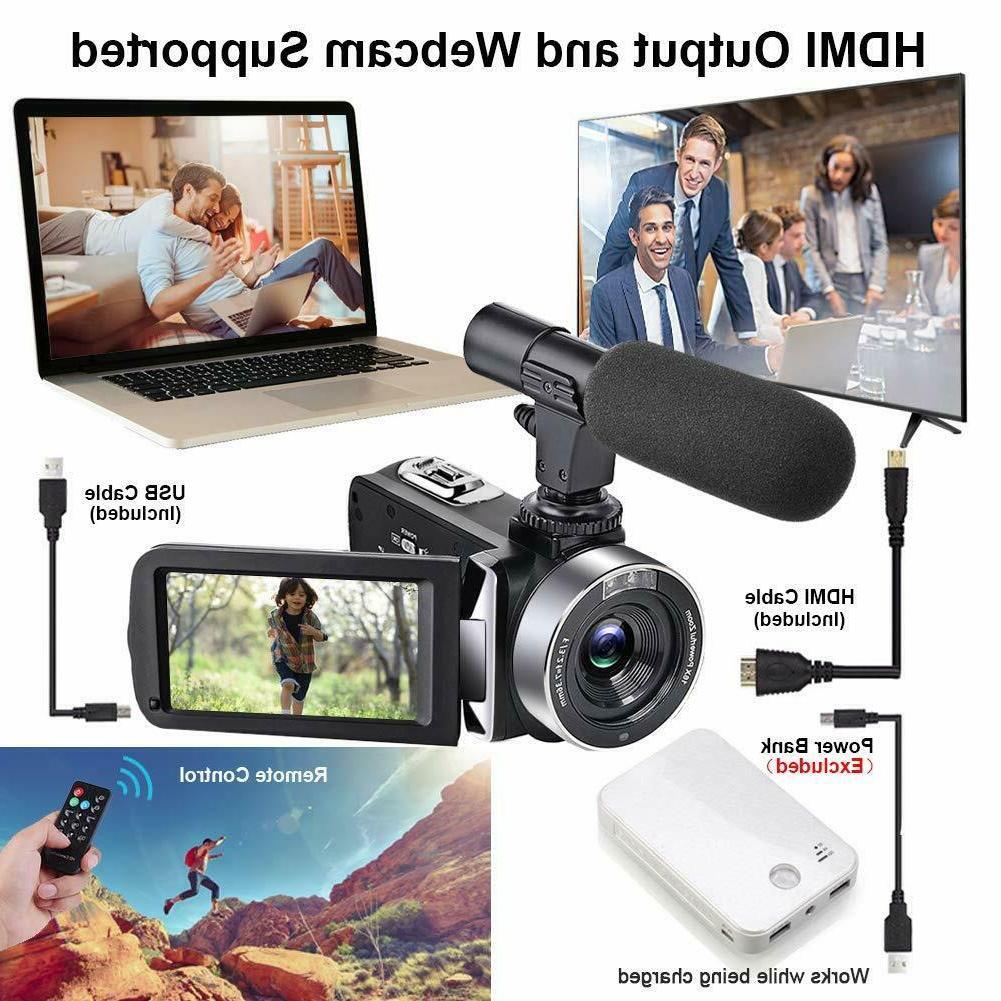 Video Microphone 2.7K 30FPS Vlogging