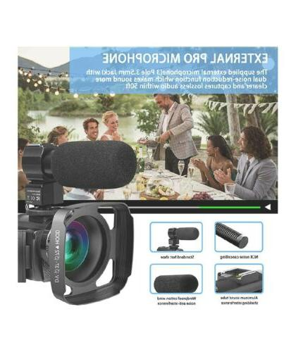 Video Camera Microphone, 42MP 1080P