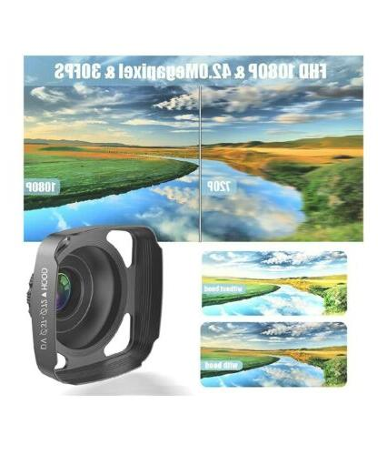 Video Camera Camcorder with Microphone, VideoSky 42MP