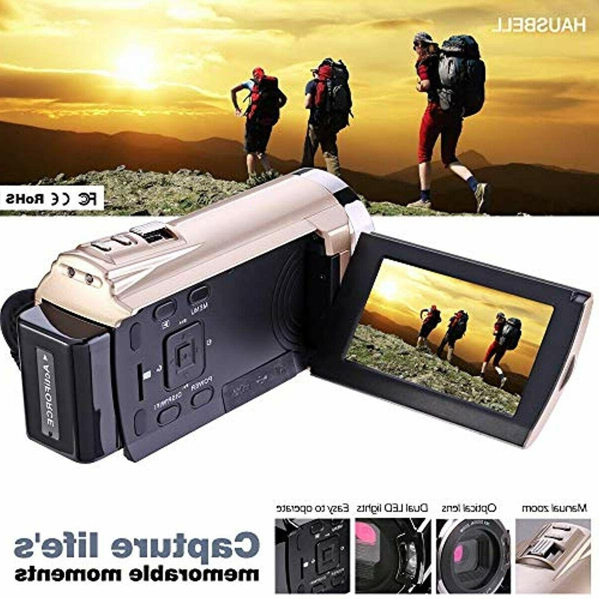 Video Camera, with 1920x1080p Video Cam