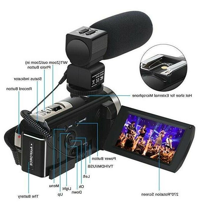 Video HD 24MP 16X Digital 3.0 2