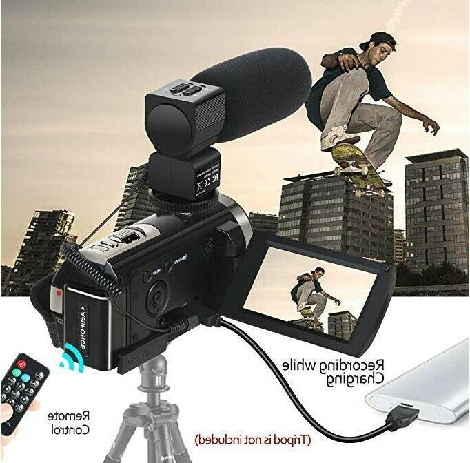 Video Camera HD 16X Digital Zoom 2