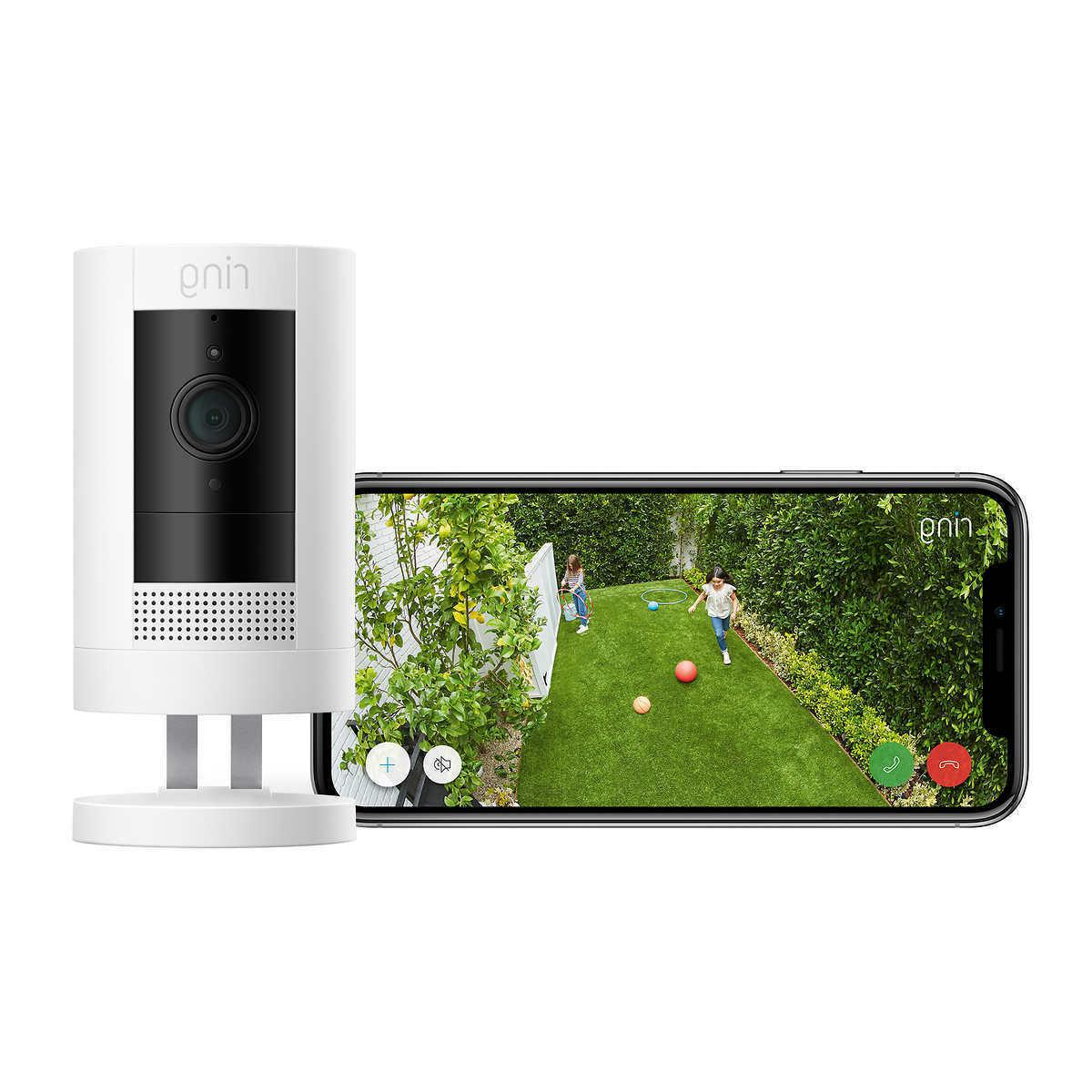 Ring with Stick Home Security
