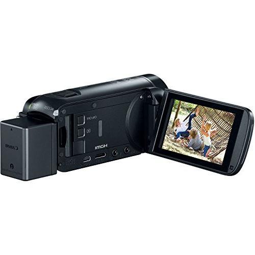 Canon Vixia R800 1080p Camera Camcorder + Battery Charger + + + + 2 Lens Kit