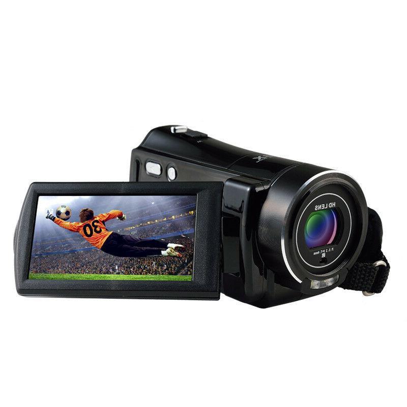 Vlogging Video Camera 1080PHD Digital Night For YouTube Selfie