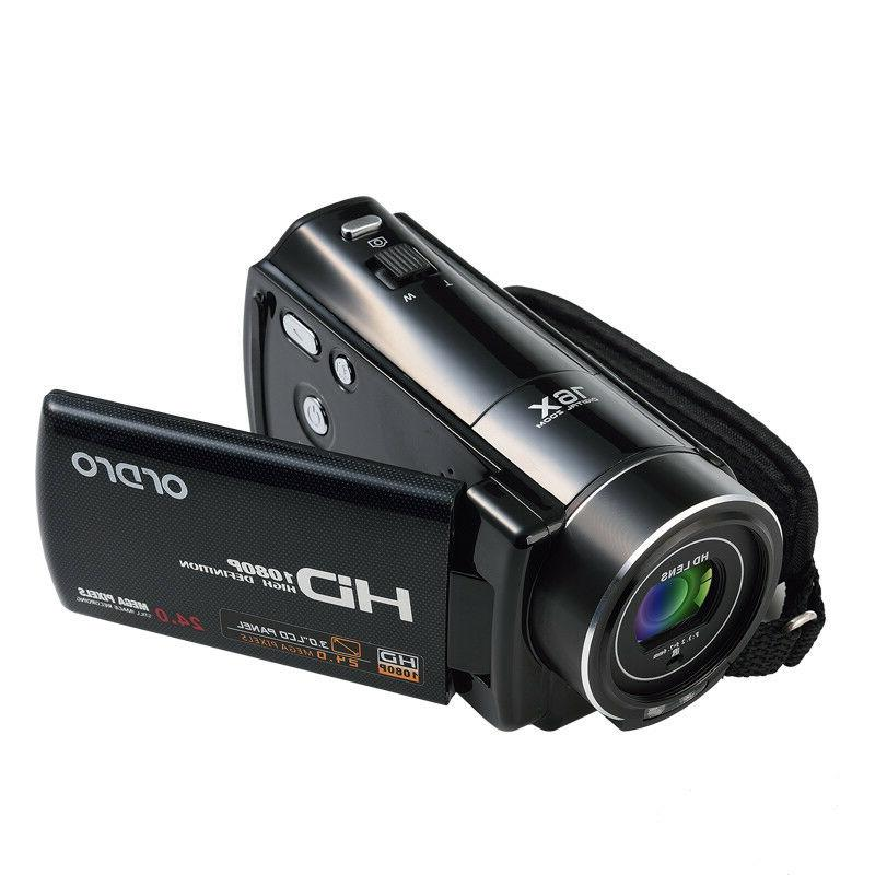 Vlogging Video 1080PHD Digital Night For