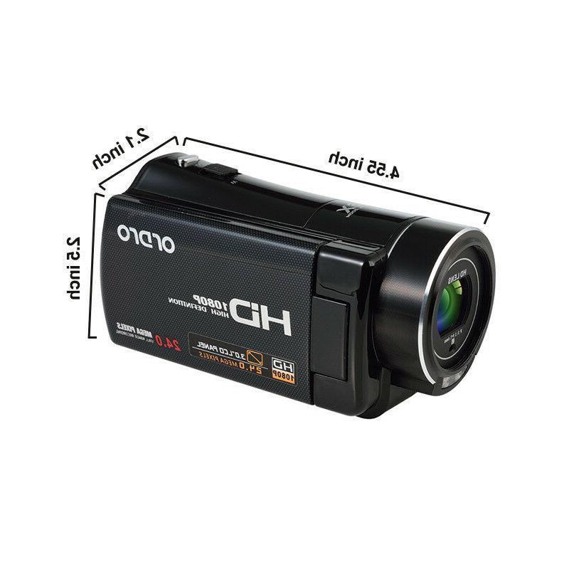 Vlogging Camera 1080PHD Digital Night For