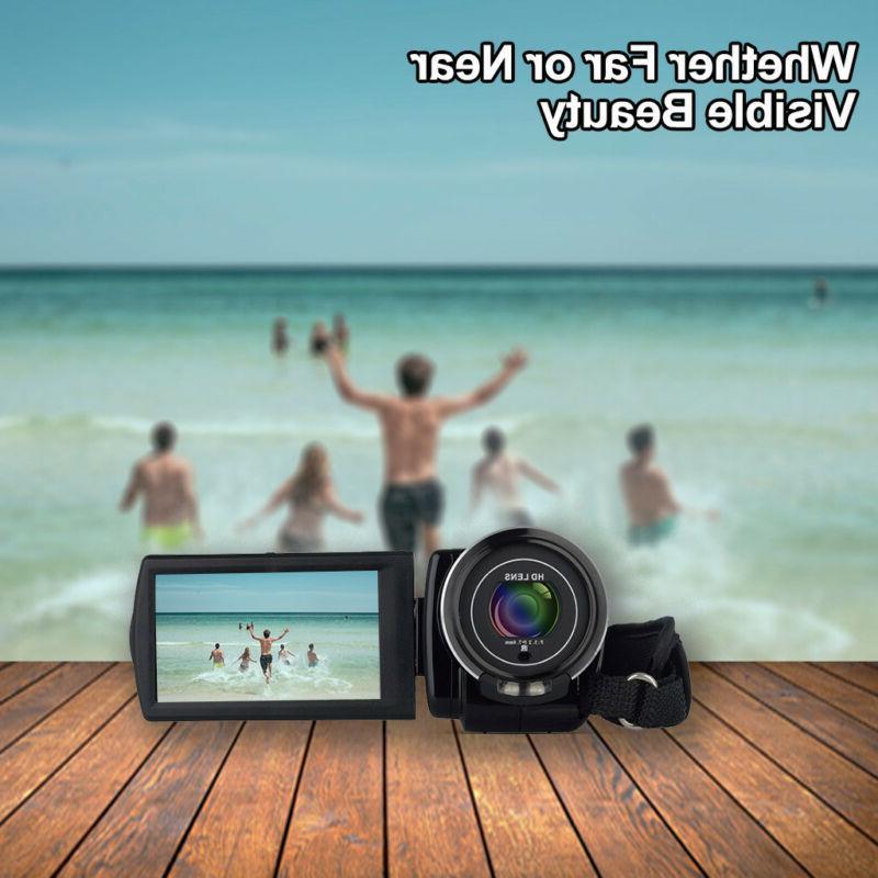 Vlogging Camera 1080PHD For