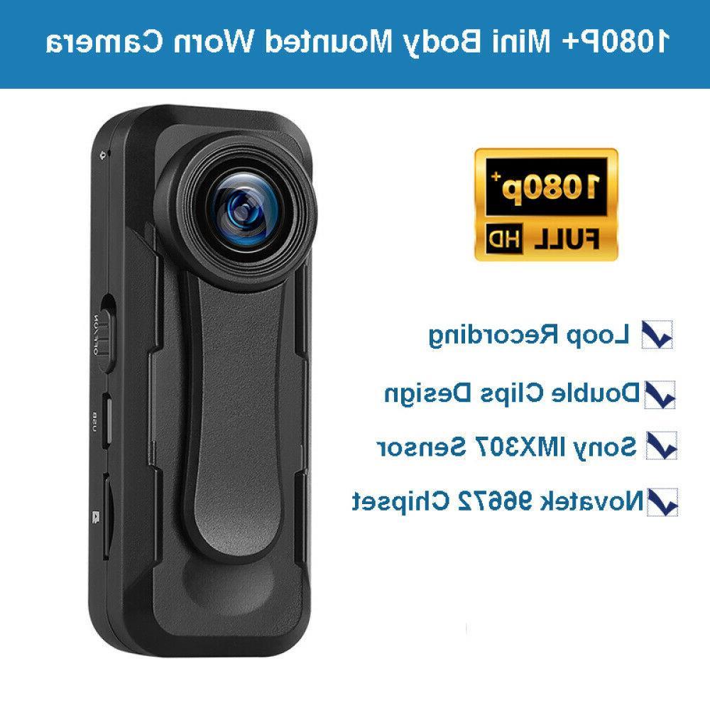 BOBLOV Small Mini 1080P+ Camera 30FPS Loop Recording
