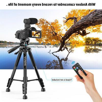WiFi 4K FHD Video 24MP Recorder DV+Mic+Lens