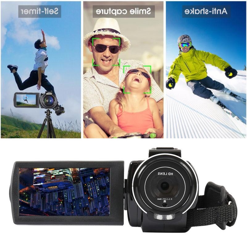 WiFi 24MP Camcorder Rechargeable