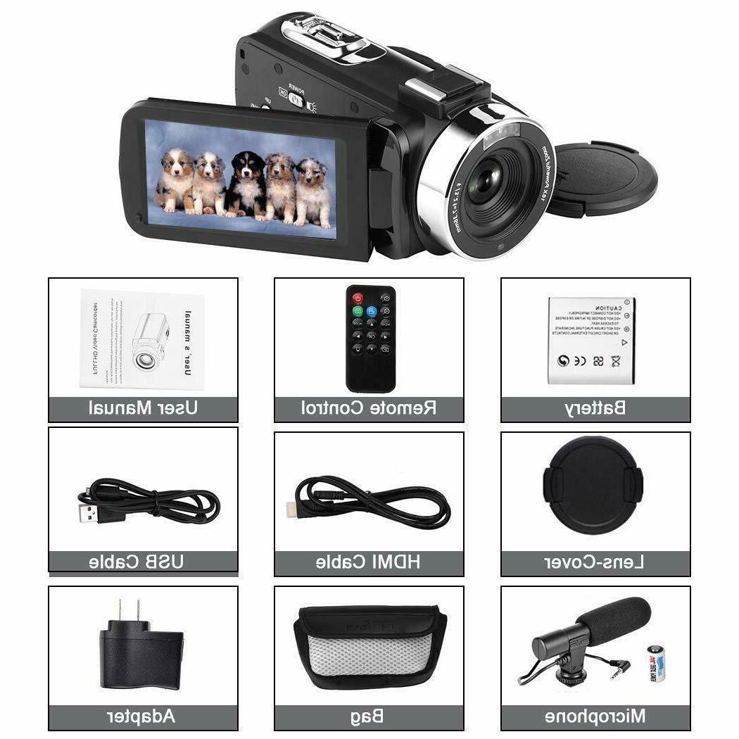 LESHP WiFi HD IPS 1080P 24MP Video Camera &