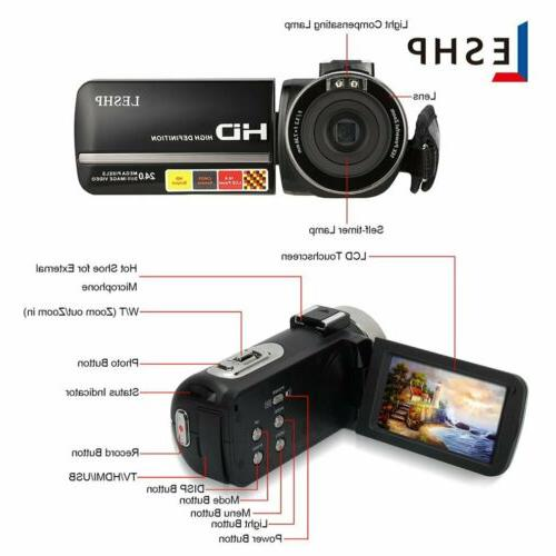 LESHP WiFi FULL IPS Video Camera &
