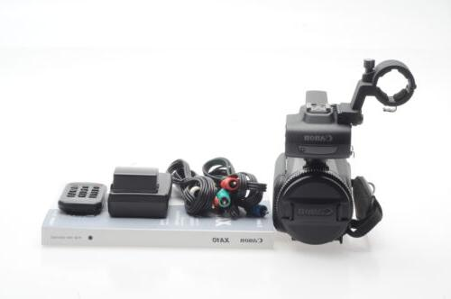 xa10 hd 64gb professional camcorder video camera