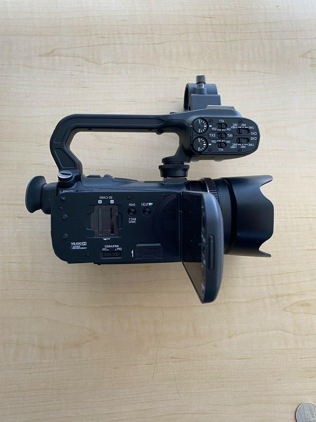 Canon XA10 Professional Video Condition with 6