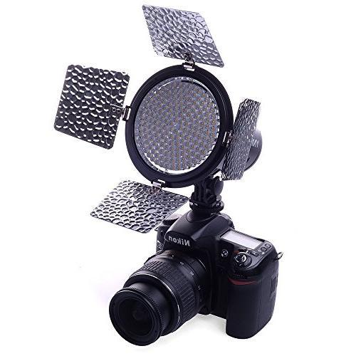 YONGNUO YN216 YN-216 LED Video Camera with 5500K Color 4 Canon Nikon