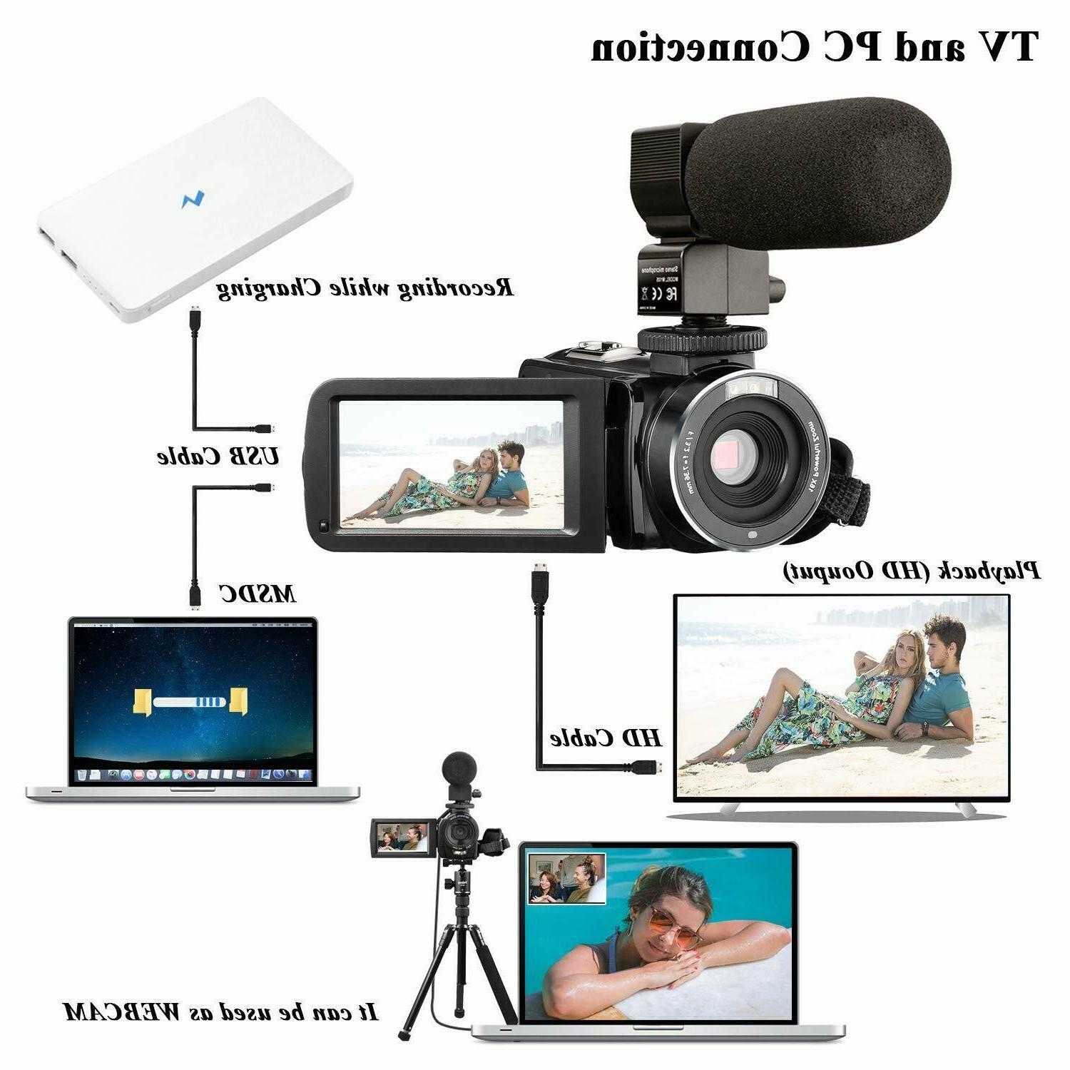 YouTube Camcorder 24MP 32GB