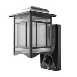 Video Camera Recorder,WiFi Security Wall Light with Motion S