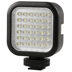Godox LED36 On-Camera LED Video Light Hot Shoe 36pcs LED Dim