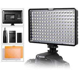 LED Video Light, SAMTIAN Ultra Bright Dimmable Camera Photo