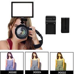LED Video Light Panel, Dazzne Bi-Color Photography Lighting