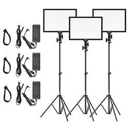 "LED Video Light Stand Lighting Kit - 15.4"" Bi-Color 3200k-56"