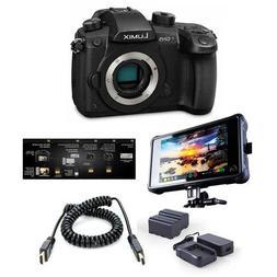 Panasonic Lumix DC-GH5 Mirrorless Camera Body, Black - Pro F