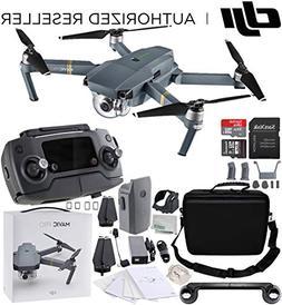 DJI Mavic Pro Collapsible Quadcopter Starters Backpack Bundl