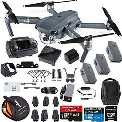 DJI Mavic Pro Fly More Combo Collapsible Quadcopter Safety B