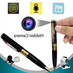 Bysameyee Meeting Video Recorder Camera Pen, Mini Portable D