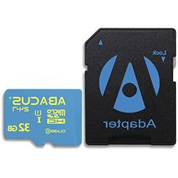 Abacus24-7 32GB microSD Memory Card with SD Adapter for MARV