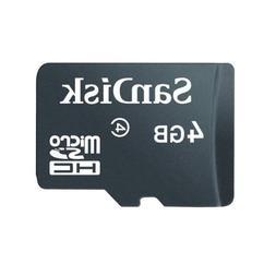 SanDisk 4GB microSDHC Flash Memory Card SDSDQ-004G
