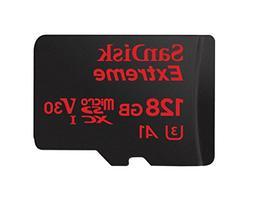 SanDisk Extreme 128GB microSDXC UHS-I U3 V30 A1 Memory Card