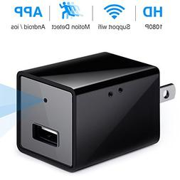 MinGz Hidden Spy Camera with Motion Detection,1080P with WiF