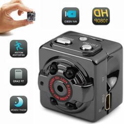 Mini 1080P SQ8 HD Hidden Spy Camera Night Vision Motion Dete