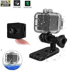 HD Mini Camera - 1080P Hidden Camera Waterproof 2 Mega Pixel