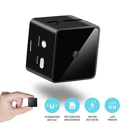 Mini Cube Spy Hidden Camera Full HD 1080P with Motion Detect