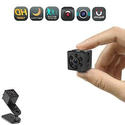 Mini Spy Camera, CHUHE 1080P Portable HD Covert Body Cam wit