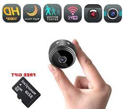 Mini Spy Security Camera WiFi   Hidden Magnetic Camera   Fre