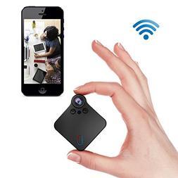 Mini Spy Camera WiFi Hidden Camera 1080P Portable Wireless I