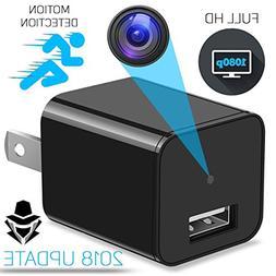 Mini USB Hidden Spy Camera - USB Wall Hidden Camera & Phone