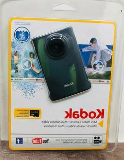 Kodak Mini Video Camera with SD Card 2010  New Sealed in Pac