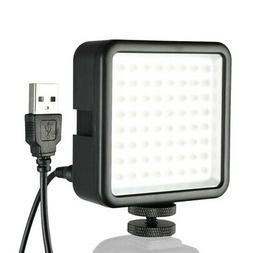 Mini W49 LED Video Camera Flash Fill-light Panel Lamp for Ca