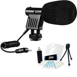 Mini Zoom Video Camera Shotgun Microphone for Canon PowerSho