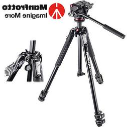 MANFROTTO MK190X3-2W MT190X3 3 SECTION TRIPOD with MHXPRO-2W