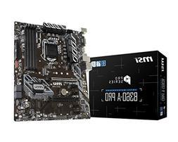 MSI Model B360APRO Intel Chipset Socket H4 LGA-1151 B360-A P