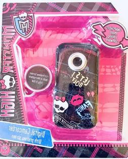 MONSTER HIGH Digital Video Recorder with Camera Built-In Mic