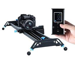 Motorized Camera Slider Dolly Video Track with Time Lapse Du
