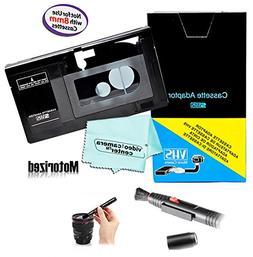 Motorized VHS-C Cassette Adapter For JVC C-P7U CP6BKU C-P6U,